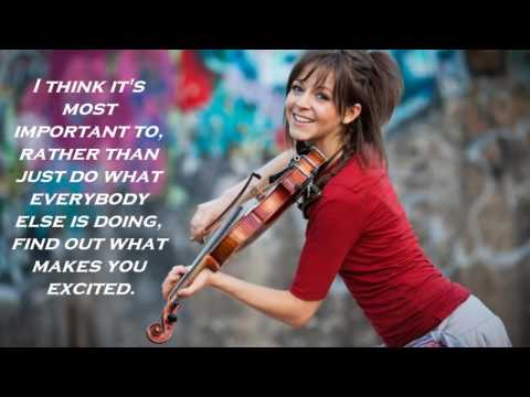 Crystallize Cover Duet with frankie h and Inspirational Quotes from Lindsey Sterling
