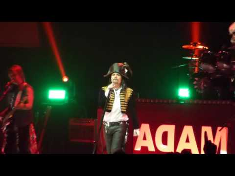 Adam Ant - Ant Music - Glasgow Royal Concert Hall 5th June 2016