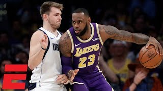 LeBron James' 29 points lift Lakers to win vs. Mavericks   NBA Highlights