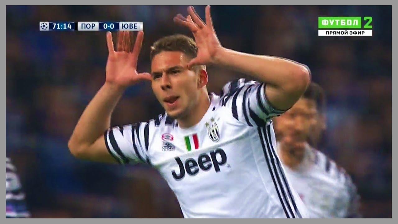 Marko Pjaca Vs Porto Away 22 02 2017 Hd Youtube