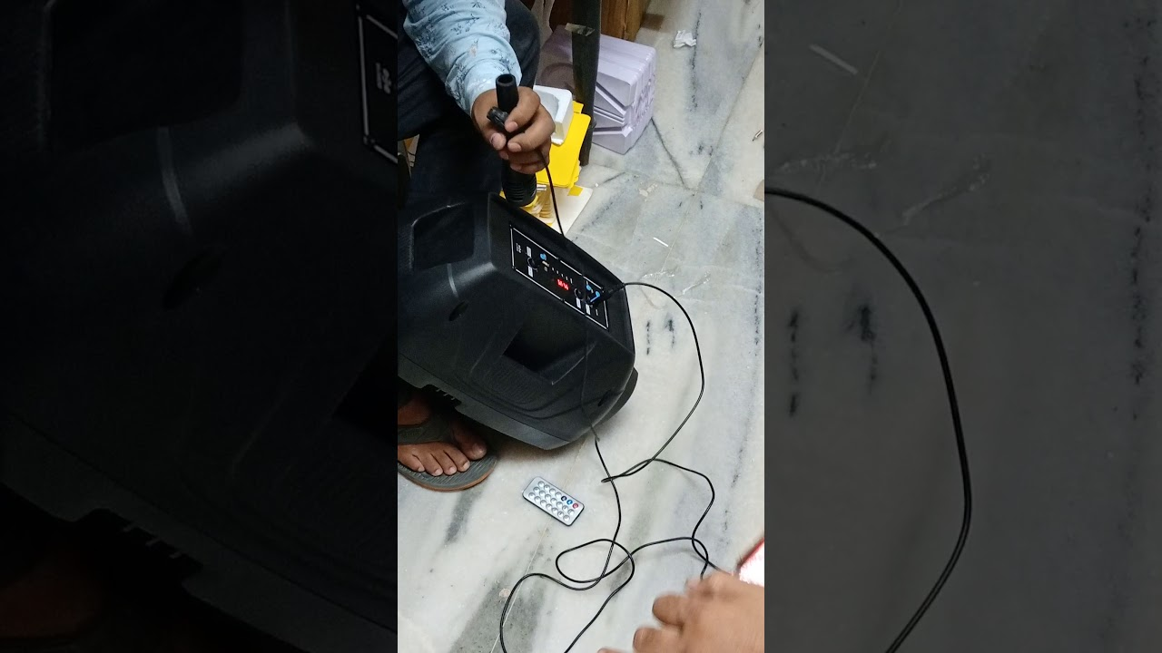 speaker with FM and mic