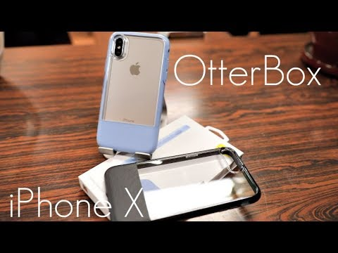 on sale f9ce9 ff0e4 Clear + Luxury Leather! OtterBox Statement Case - iPhone X - Hands On Review