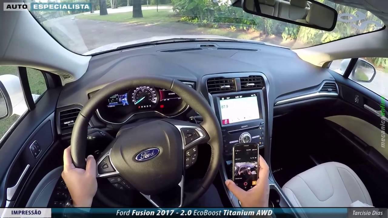 Primeira Impress 227 O Ford Fusion 2017 Youtube