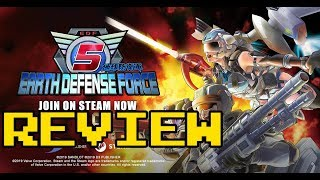 Earth Defense Force 5 Review (Video Game Video Review)