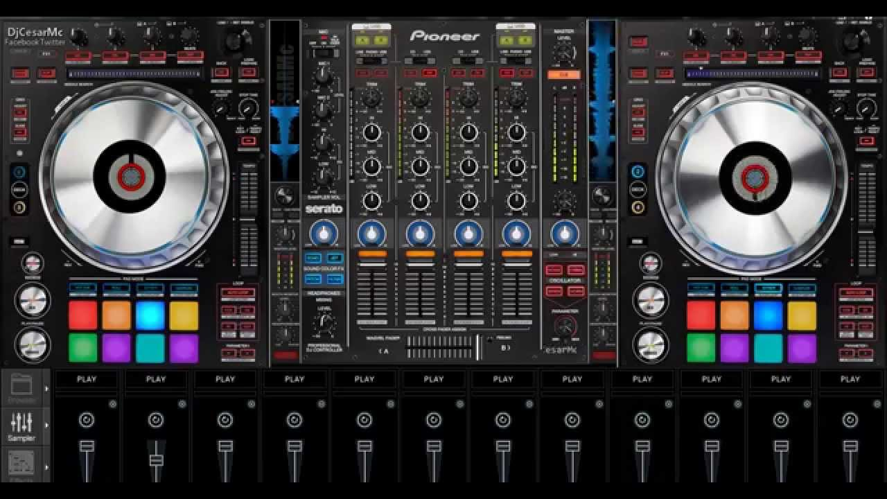 pioneer ddj sz skin virtualdj download
