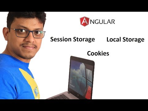 Cookies, Local storage and Session storage in Angular 5