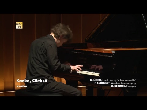 63rd. International Piano Competition Maria Canals: Second Round   03/31/2017 - Afternoon Session