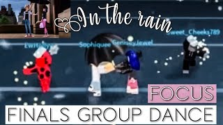 ROBLOX - IN THE RAIN - MIRACULOUS LADYBUG- Focus Finals Group Scene/Dance!💫💭☔️ | Bianca!💕