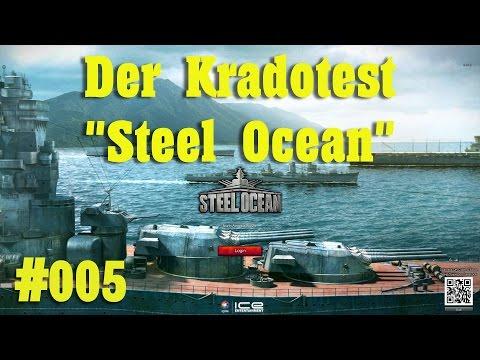 Let´s Test Steel Ocean Gameplay - German/Deutsch #005 Der Kradotest - Steel Ocean Gameplay - U-Boote