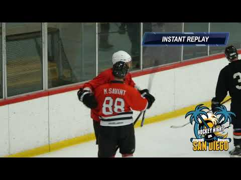 Anaheim Ice Adult Hockey Cobra Kai vs 10 Minute Window