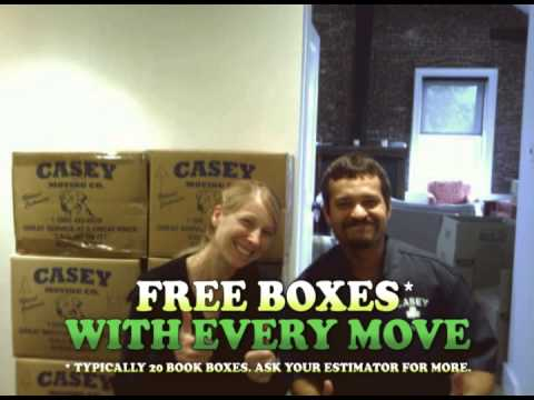 West End Boston Moving Company | Casey Movers | 1-800-482-8828