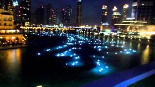 Dubai Fountain Lights (Part 1)