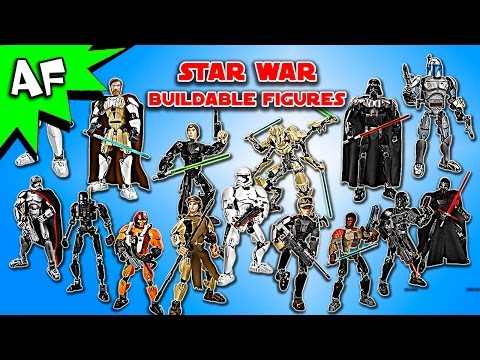 Every Lego Star Wars BUILDABLE FIGURE Set - Complete Collection!