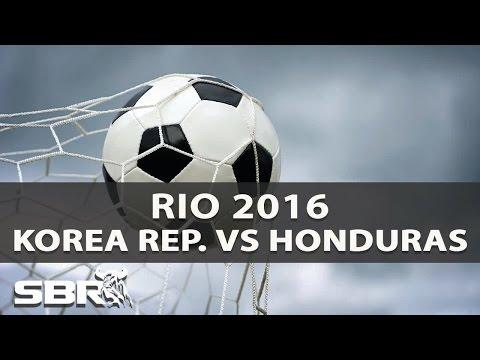 Korea Republic vs Honduras 13/08/16   Olympic Football   Preview & Predictions