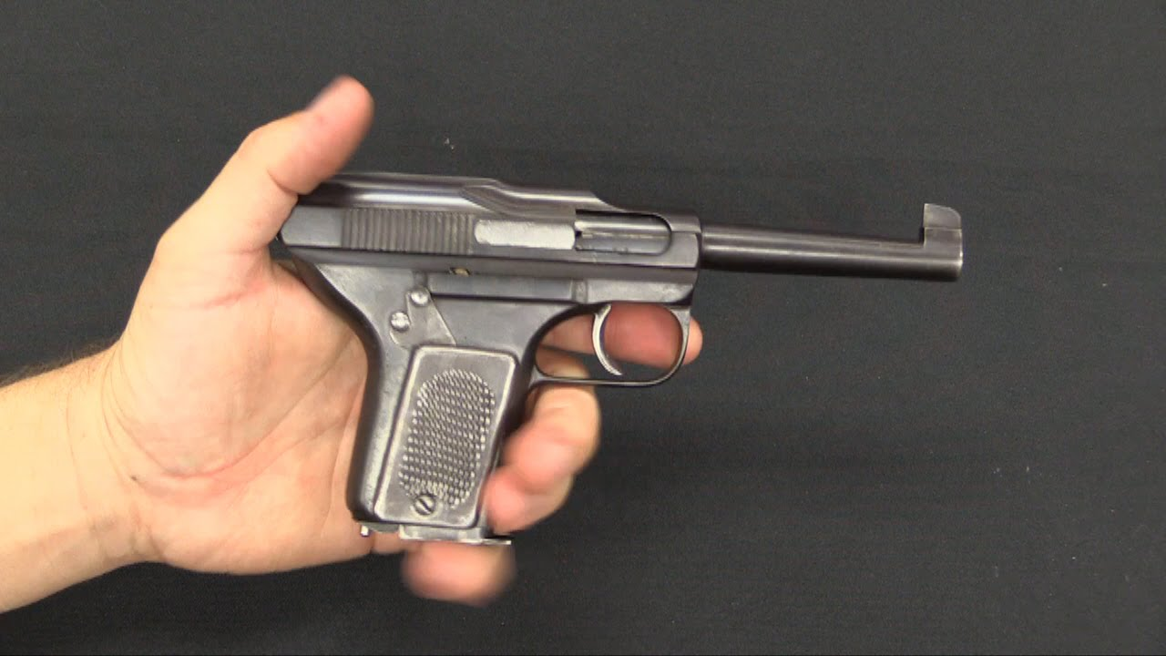 Schouboe Model 1903 32acp Pistol Youtube