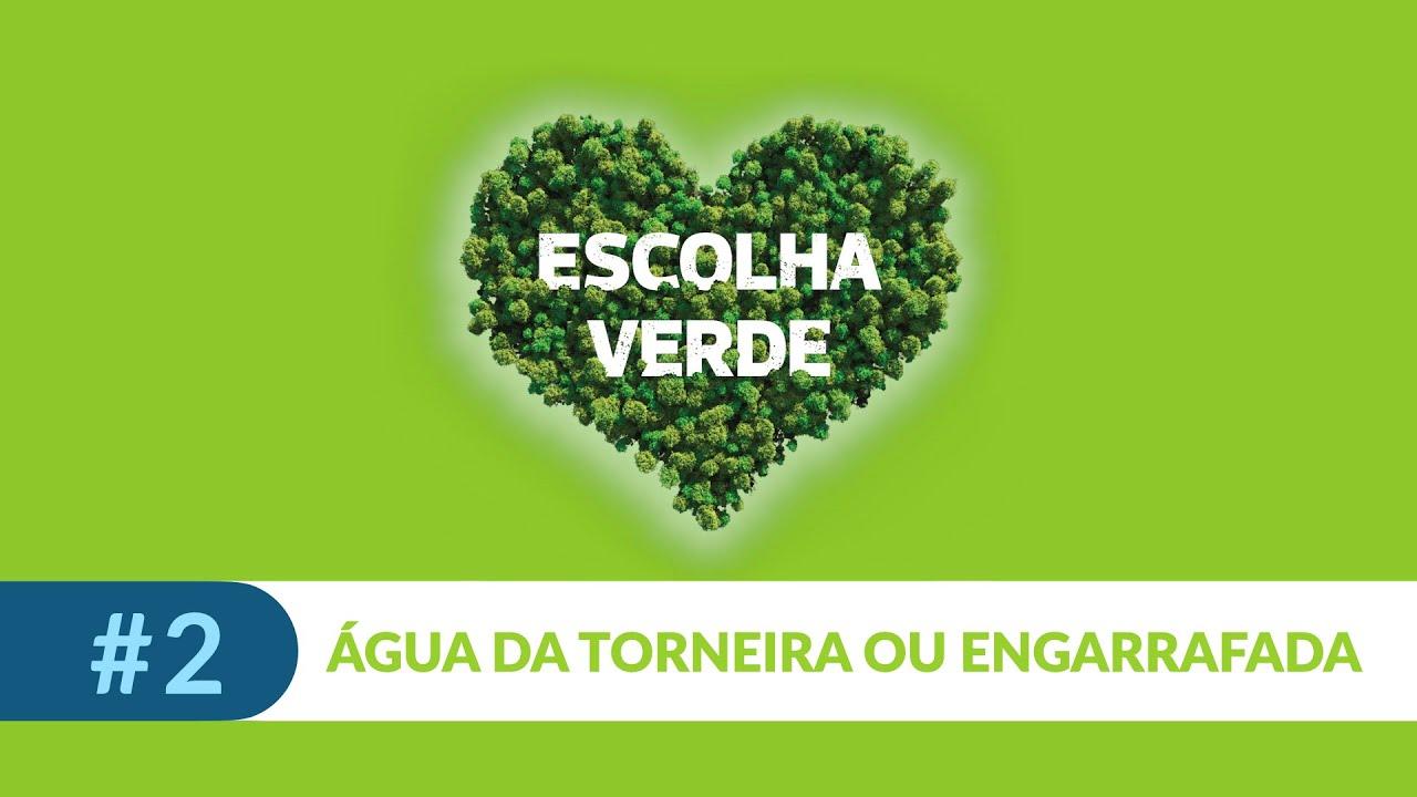 Seja um consumidor sustentável #2: beba água da torneira
