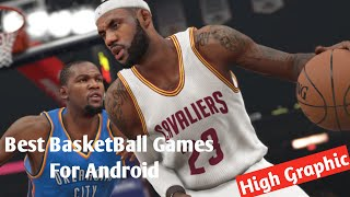 Top 5 Best Basketball Games For Android - IOS | Realistic Graphics Basketball Games 2020