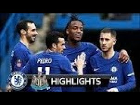 Download Chelsea vs Newcastle 3-0 ● All Goals & Extended Highlights   28/01/2018 HD