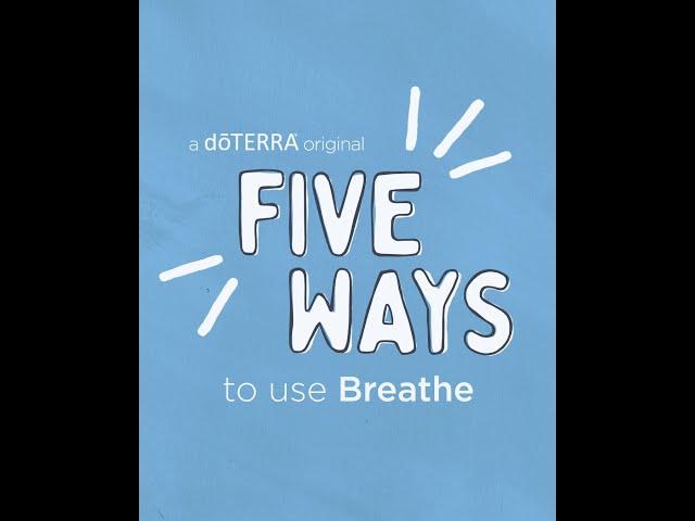 5 Ways   Breathe