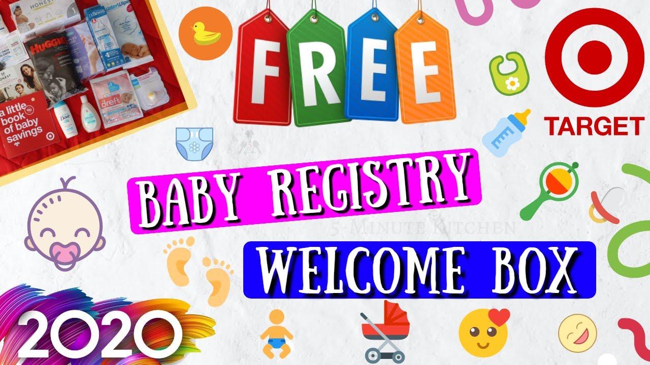 2020 FREE TARGET BABY 👶 REGISTRY WELCOME BAG [ FREE BABY ...