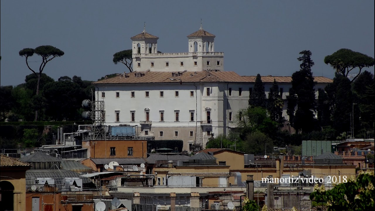 Roma dalla Terrazza Caffarelli (manortiz) - YouTube