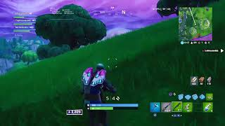 Trying to get wins in fortnite