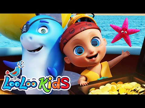 LooLoo – A Sailor Went to Sea – Nursery Rhymes for Kids | LooLoo KIDS – Cantece pentru copii in limba engleza