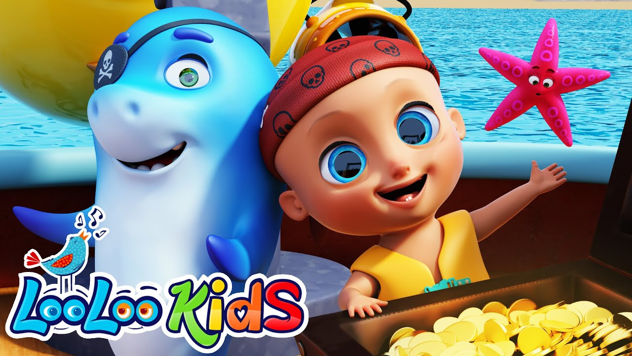 A Sailor Went to Sea - 👶 THE BEST Song for Children | LooLoo Kids