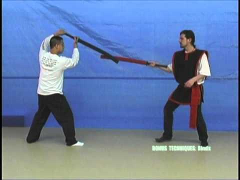 Foam Sword LARP Sparring Technique: Binds