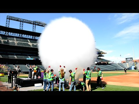 Weather and Science Day at Coors Field