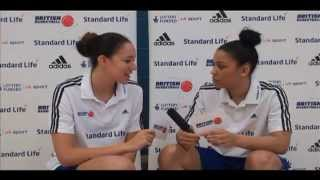 Azania Stewart and Lauren Thomas Johnson interview each other!