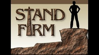 Standing firm in a world which embraces sin