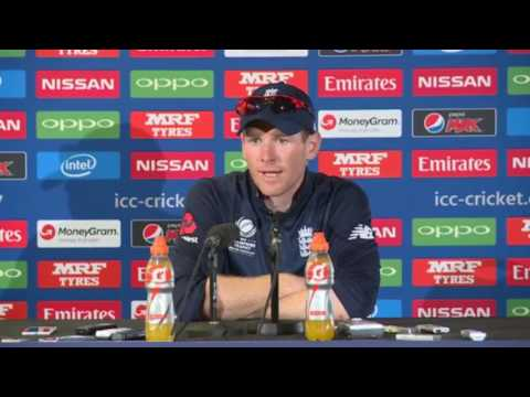 Disappointed Eoin Morgan after England vs Pakistian ICC champions trophy Press Conference 2017