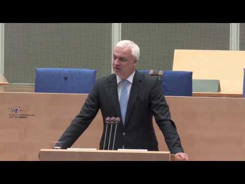 Garrelt Duin, Minister für Wirtschaft, Energie, Industrie, Mittelstand und Handwerk des Landes NRW