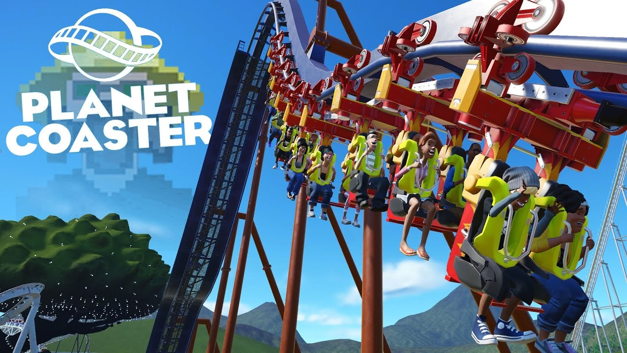 Let\'s Play Planet Coaster - Part 3 - Old Rides - YouTube