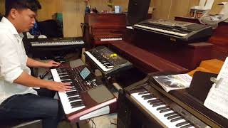 Rock trên Korg Pa1000- Tuấn Kiệt Piano- Nhạc cụ Key Fix chuyên đào tạo học viên đi show-0937.684.031