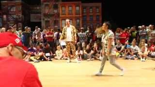 VEACESLAV [MDA] vs. CARMELINA [GER] | Quarterfinal Battle | IDO European Hip Hop Championships 2014