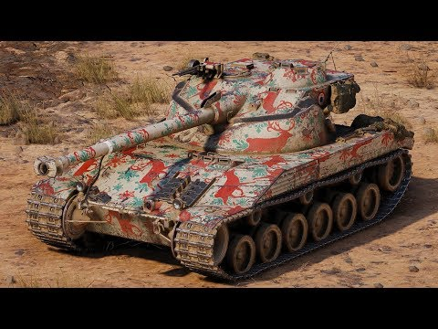 World of Tanks Bat.-Châtillon 25 t - 5 Kills 9,8K Damage thumbnail
