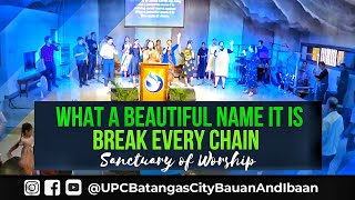 WHAT A BEAUTIFUL NAME IT IS / BREAK EVERY CHAIN   Sanctuary of Worship 08.04.2019
