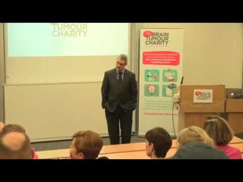 Brain tumours lecture | Dr Colin Watts | The Brain Tumour Charity | London