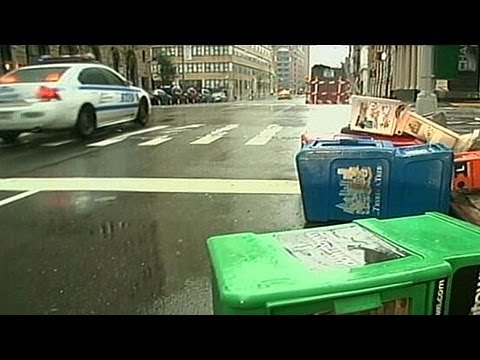 Hurricane Sandy Aftermath Video: New York at a Stand Still