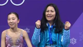 Most supportive mother at Pyeong Chang 2018 Ladies Event