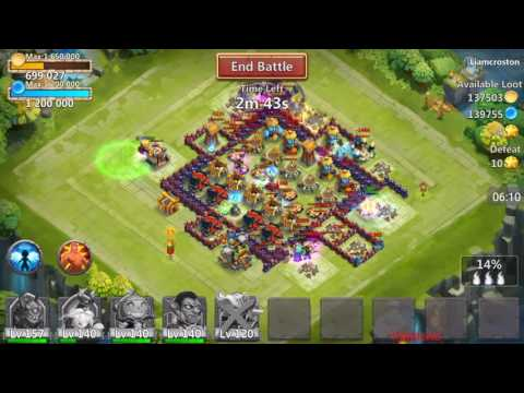 Castle Clash - Episode 66 - Breaking 25k Might! Showing How To Boost Might!