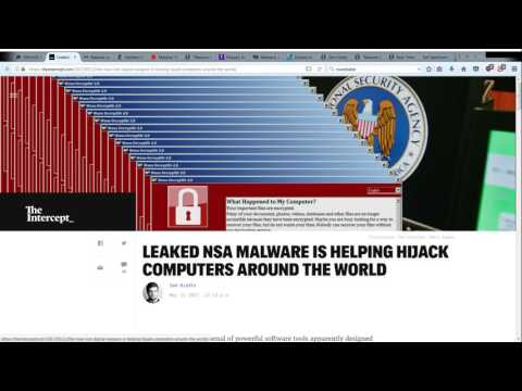 The Day Earth Was Hacked: Ransomware Extorts 5/12/2017