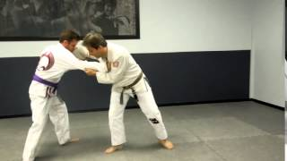 Modified Yoko Guruma Throw