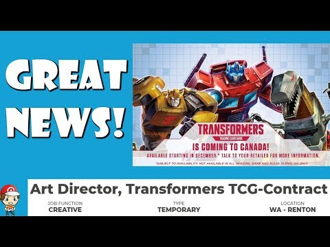 The Transformers TCG is Growing – Great News!!