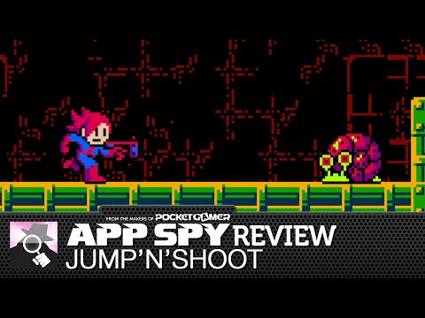 Jump'N'Shoot Attack iOS iPhone / iPad Gameplay Review - AppSpy.com