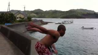 BBQ swimming