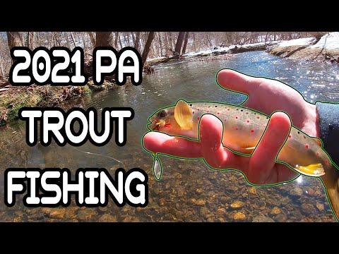Pennsylvania TROUT FISHING 2021