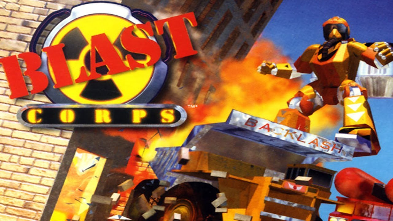 The Making of \'Blast Corps\' | Goomba Stomp